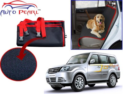 Auto Pearl PTC135 - Premium Make Red Black Car For - Tata Sumo_Grande Hammock Pet Seat Cover