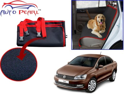 Auto Pearl PTC145 - Premium Make Red Black Car For - Volkswagen Vento Hammock Pet Seat Cover