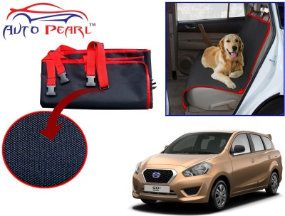 Auto Pearl Ptc55 - Premium Make Red Black Car For - Datsun_go_plus Hammock Pet Seat Cover