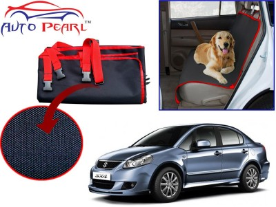 Auto Pearl PTC140 - Premium Make Red Black Car For - Maruti Suzuki SX4 Hammock Pet Seat Cover