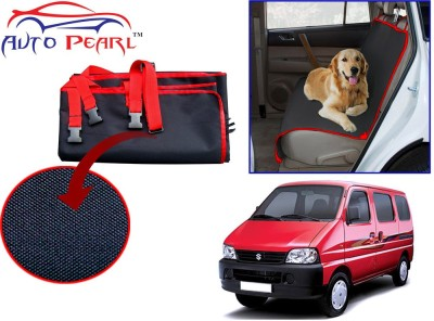 Auto Pearl Ptc60 - Premium Make Red Black Car For - Maruti Suzuki Eeco Hammock Pet Seat Cover