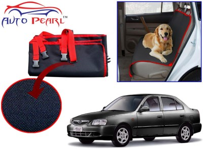 Auto Pearl Ptc31 - Premium Make Red Black Car For - Hyundai Accent Hammock Pet Seat Cover