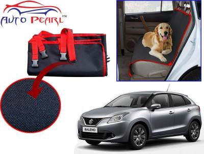 Auto Pearl PTC163 - Premium Make Red Black Car For - Maruti Suzuki New Baleno Hammock Pet Seat Cover