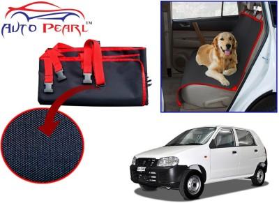 Auto Pearl Ptc34 - Premium Make Red Black Car For - Maruti Suzuki Alto Hammock Pet Seat Cover