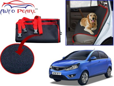 Auto Pearl PTC160 - Premium Make Red Black Car For - Tata Zest Hammock Pet Seat Cover