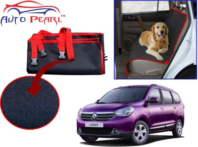 Auto Pearl PTC121 - Premium Make Red Black Car For - Renault_Lodgy Hammock Pet Seat Cover