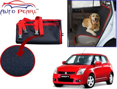 Auto Pearl PTC139 - Premium Make Red Black Car For - Maruti Suzuki Swift_Old Hammock Pet Seat Cover