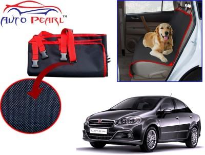 Auto Pearl PTC99 - Premium Make Red Black Car For - Fiat Linea Hammock Pet Seat Cover