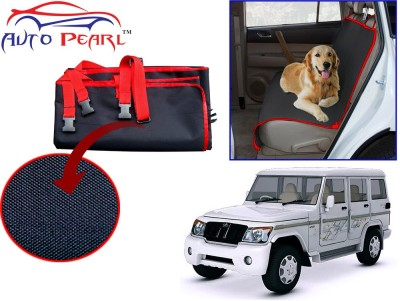 Auto Pearl Ptc44 - Premium Make Red Black Car For - Mahindra Bolero_xl Hammock Pet Seat Cover