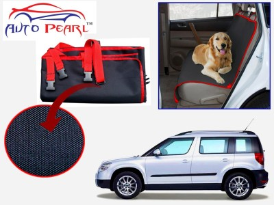 Auto Pearl PTC158 - Premium Make Red Black Car For - Skoda Yeti Hammock Pet Seat Cover