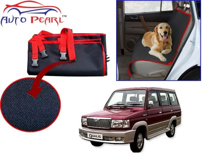 Auto Pearl PTC118 - Premium Make Red Black Car For - Toyota Qualis Hammock Pet Seat Cover