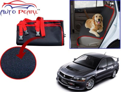 Auto Pearl PTC96 - Premium Make Red Black Car For - Mitsubishi Lancer Hammock Pet Seat Cover