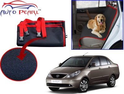 Auto Pearl PTC92 - Premium Make Red Black Car For - Tata Indigo Hammock Pet Seat Cover