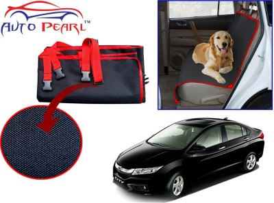 Auto Pearl PTC83 - Premium Make Red Black Car For - Honda City Ivtech New Hammock Pet Seat Cover