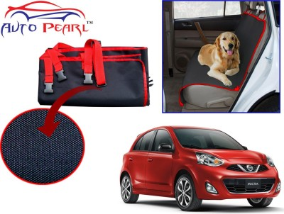 Auto Pearl PTC106 - Premium Make Red Black Car For - Nissan Micra_2015 Hammock Pet Seat Cover