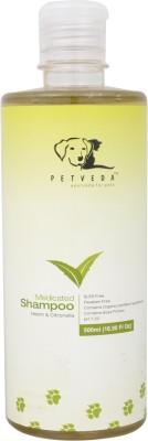 Petveda No-Tick Wash Anti-dandruff, Flea and Tick, Allergy Relief, Anti-itching, Hypoallergenic Neem, Citronella Dog Shampoo
