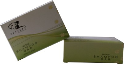 Petveda No-Tick Shampoo Bar Flea and Tick, Anti-dandruff, Anti-itching, Anti-microbial Essential Oil Blend Dog Shampoo
