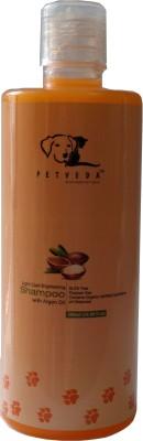 Petveda Body & Shine Whitening and Color Enhancing, Conditioning Natural Blend Dog Shampoo