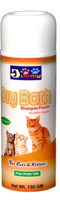 JiMMy All Purpose Rose Dry Bath Cat Shampoo