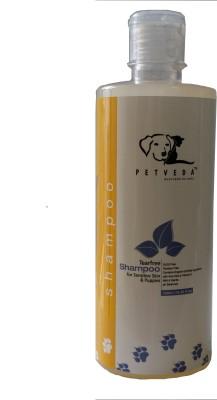 Petveda No Tears & Sensitive Skin All Purpose, Hypoallergenic Natural Mild Blend Dog Shampoo