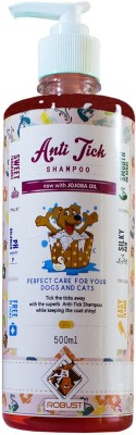 Robust Flea and Tick Jojoba Oil Dog Shampoo