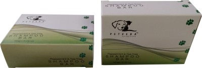 Petveda Peppermint & Tea Tree Shampoo Bar Anti-dandruff, Allergy Relief, Conditioning, Anti-microbial Tea Tree Essential Oil Blend Dog Shampoo