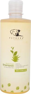 Petveda Short & Medium Coat Conditioning, Whitening and Color Enhancing, Anti-itching, Hypoallergenic Aloe Vera & Tea Tree Dog Shampoo