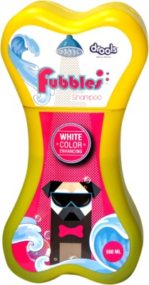 Drools Whitening and Color Enhancing Fruity Dog Shampoo