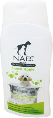 NappetsIndia Conditioning Green Apple Dog Shampoo