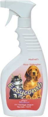 Medivet Easycomb Hair Detangler Cum Glosser Conditioning Fresh Cat Shampoo