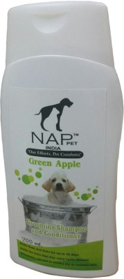 Nap Pet India All Purpose Green Apple Dog Shampoo