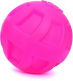 XPO Pink Paw Ball Rubber Squeaky Toy For...
