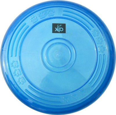 XPO Fun Soft Toy Blue Large Rubber Frisbee For Dog