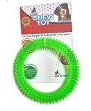 Super Dog Chew Spike Dental Play Ring Ru...