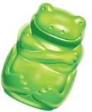 Kong Squeezz Jels Frog Squeaky Toy For D...