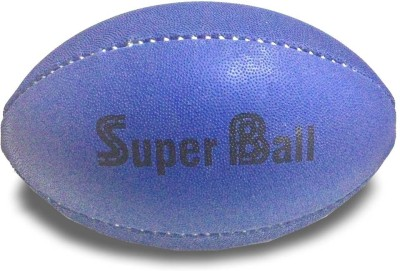 Super Dog Strong and Tough Rubber Rugby Dog ball Rubber Tough Toy For Dog