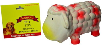 Glenand Latex Stuffed Grunter Sheep 17.5 GI036 Rubber Toy For Dog