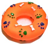 Super Dog Squeeze Dog Toy Ring Plastic, ...