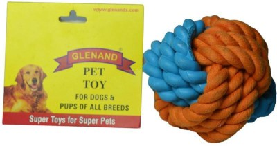 Glenand Rubber Rope Ball For Dog