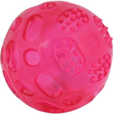 Pets Pal Super Squeeze LED Rubber Ball For Dog