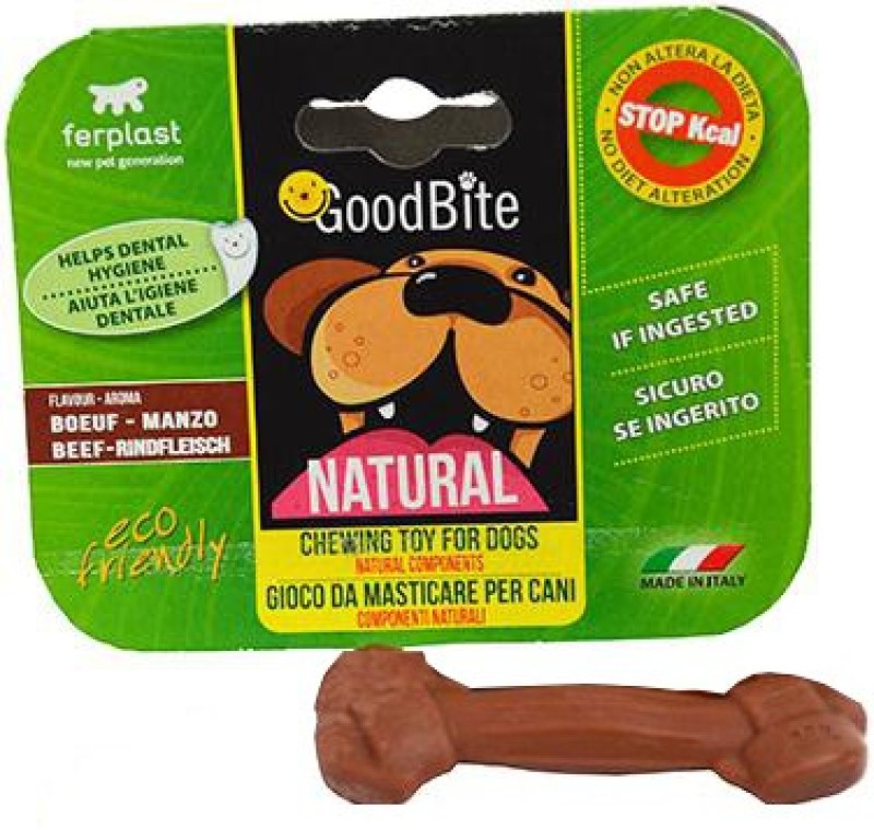 Ferplast Ferplast Goodbite Natural Beef Bone Chew Toy For Dog