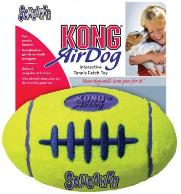 Kong Air Dog Squeaker Football Squeaky Toy For Dog