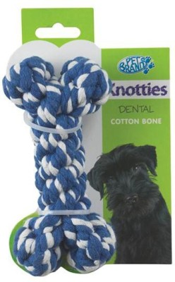 Pet Brands Knotty Bone Medium Cotton Chew Toy For Dog
