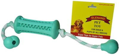 Glenand Dental Roller With Rope & Hand Nuts Rubber Toy For Dog