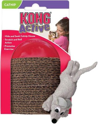 Kong Scamper Fetch Toy For Cat