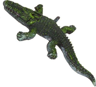 Zaktag Aquarium Crocodile Ceramic Tough Toy For Fish