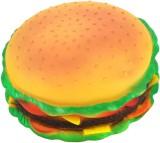 Futaba Burger Shape Squeaky Rubber Chew ...