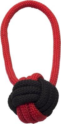Snug Hug Rope Ball With Handle Nylon Chew Toy For Dog