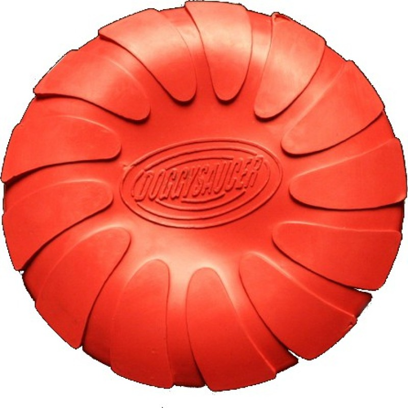 Love 'n' Care Doggy Saucer - Small Rubber Frisbee For Dog