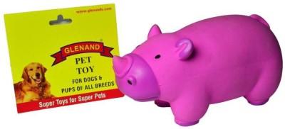 Glenand Latex Stuffed Grunter Cutie Rhino Squeaky Toy For Dog